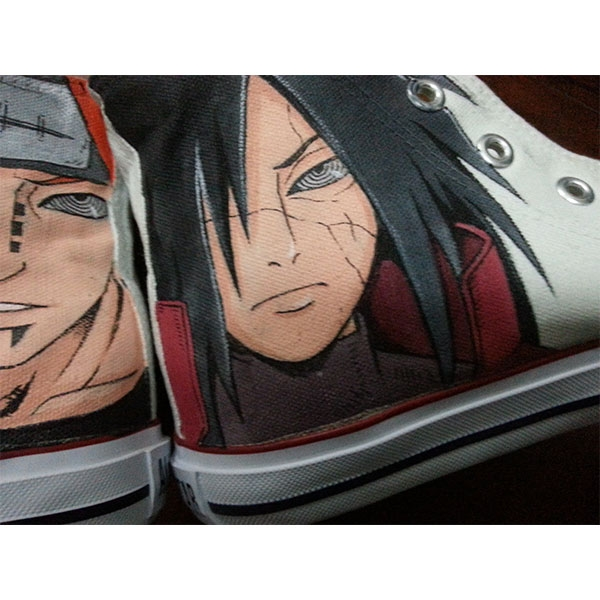 naruto hand-painted shoes naruto anime shoes-2