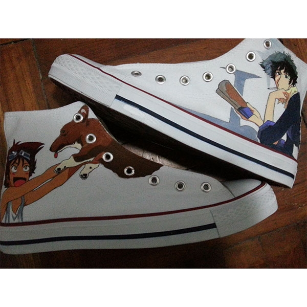 Cowboy Bebop Shoes Custom Cowboy Bebop High-top Painted Canvas S