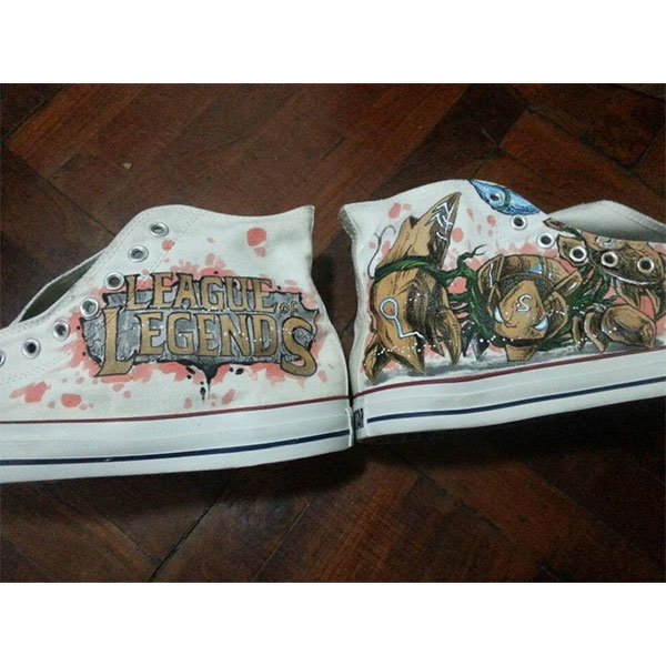 League Of Legends Shoes Custom any character League Of Legends H-3