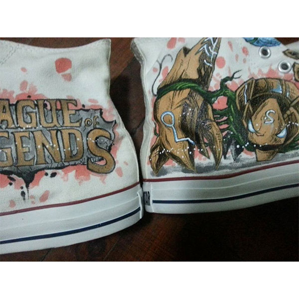 League Of Legends Shoes Custom any character League Of Legends H-4
