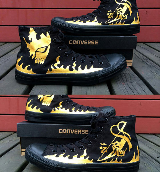 Hand Painted Canvas Shoes, Custom Canvas Sneakers Shoes