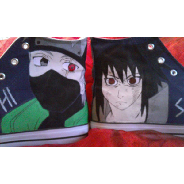 Naruto Anime Canvas Shoes-3