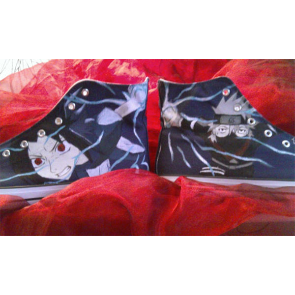 Naruto Anime Canvas Shoes-4