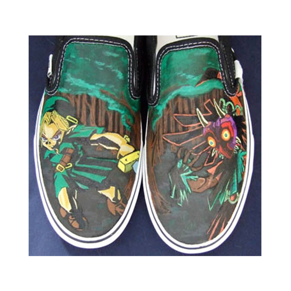 Zelda Shoes Zelda Anime Sneakers