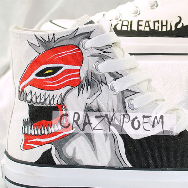 Ichigo Hand Painting Shoes Cosplay Anime Shoes Best Presents for-3
