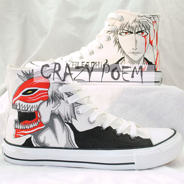 Ichigo Hand Painting Shoes Cosplay Anime Shoes Best Presents for