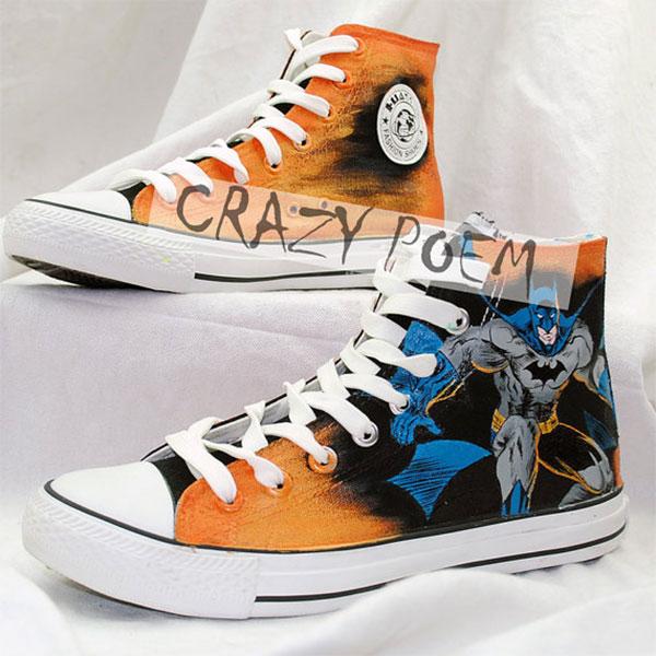 Batman Hand Painted Shoes Best Presents for Men Women-2