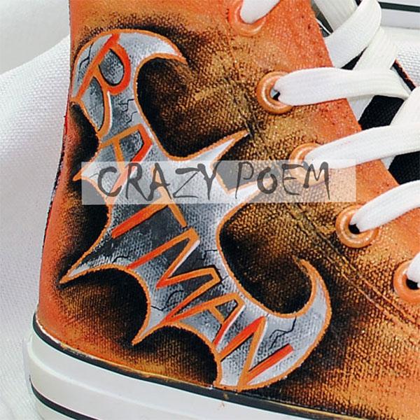 Batman Hand Painted Shoes Best Presents for Men Women-3