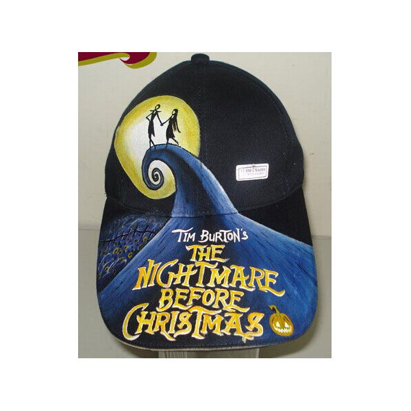 Hand Painted Hats The Nightmare Before Christmas Hats