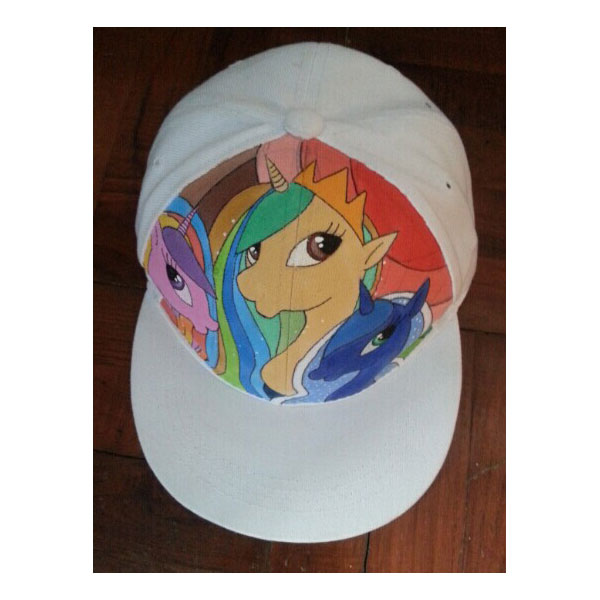 my little pony hats for sale My Little Pony Hand painted hats-1