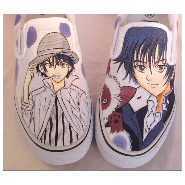 The Prince of Tennis Anime Hand Painted Shoes