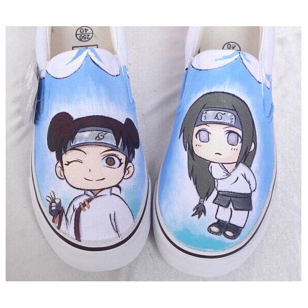 Custom Canvas Naruto Hyuga Hinata Hyuga Neji Canvas Men/Women Sh