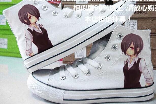 Tokyo Ghoul Canvas Sneaker for Women Men-1