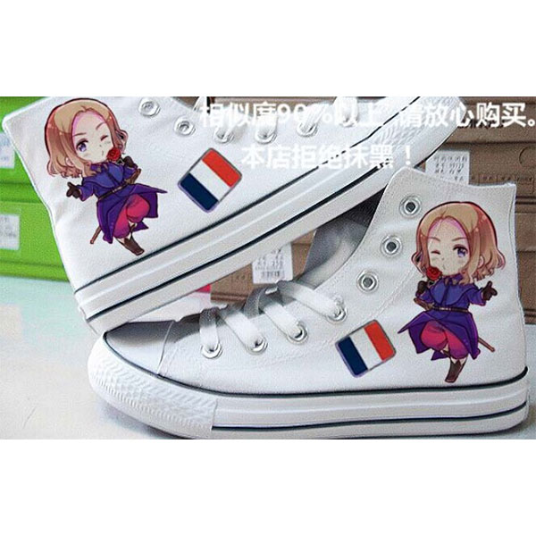 Hetalia: Axis Powers Painted Canvas Shoes