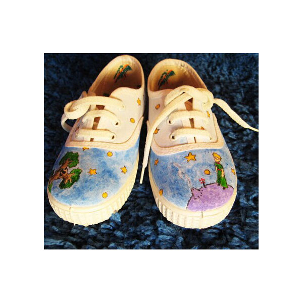 Petit prince canvas shoes Little Prince canvas shoes Principito -2