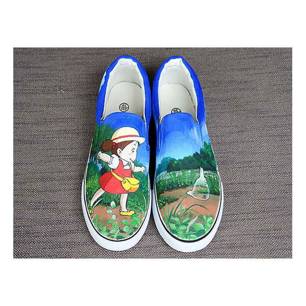 a7f9704811b0 The Walking Dead Daryl Dixon Custom Converse Painted Shoes