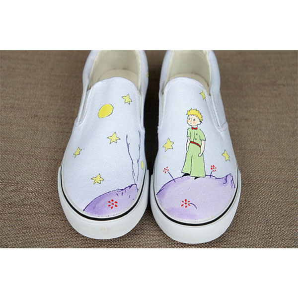 The Little Prince Hand painted shoes Cartoon shoes-1