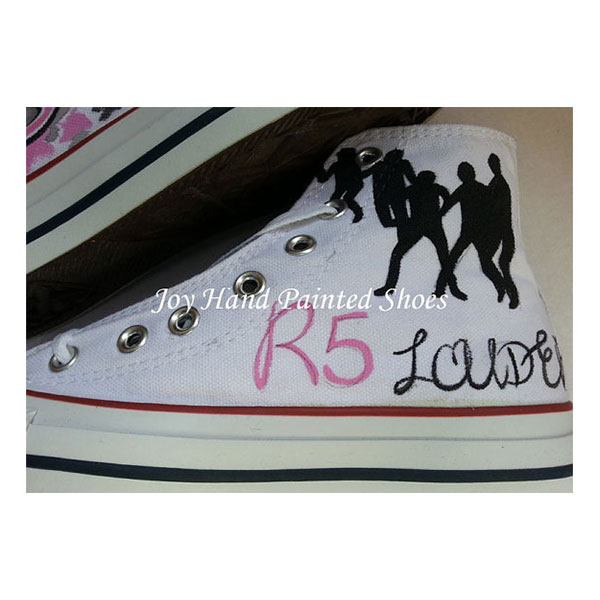 R5 Custom Sneakers Custom Hand Painted Shoes for women/men-2