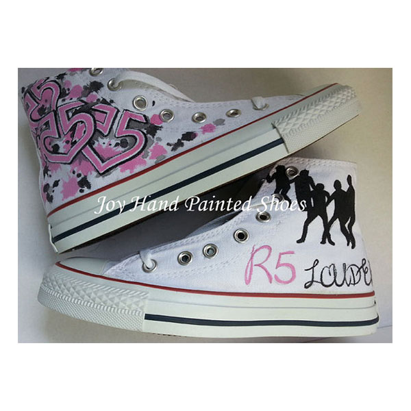 R5 Custom Sneakers Custom Hand Painted Shoes for women/men
