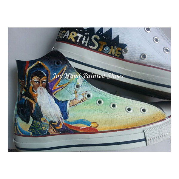 Hearthstone Sneakers Custom Hand Painted Shoes for women/men-2