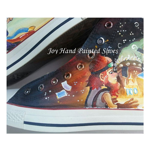 Hearthstone Sneakers Custom Hand Painted Shoes for women/men-3