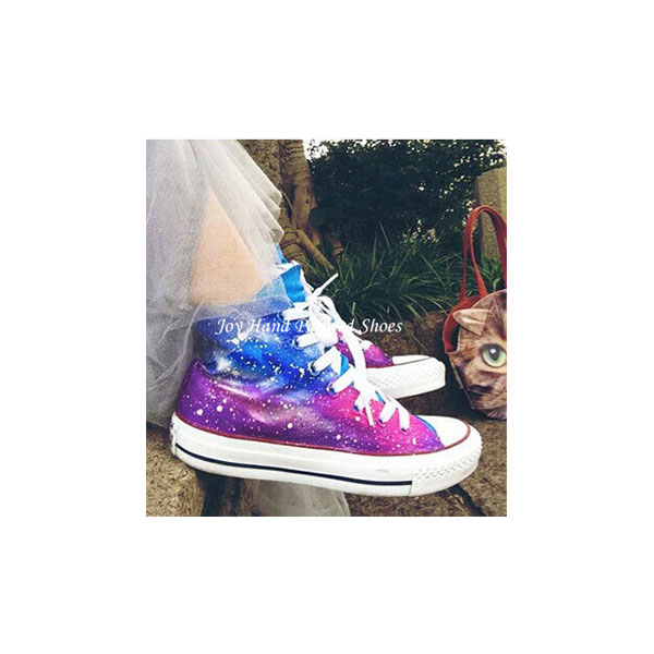 Galaxy Shoes Custom Galaxy Hand Painted Shoes for women/men