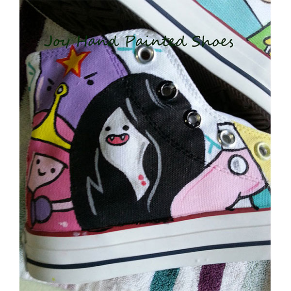 anime adventure time sneakers custom adventure time shoes-2