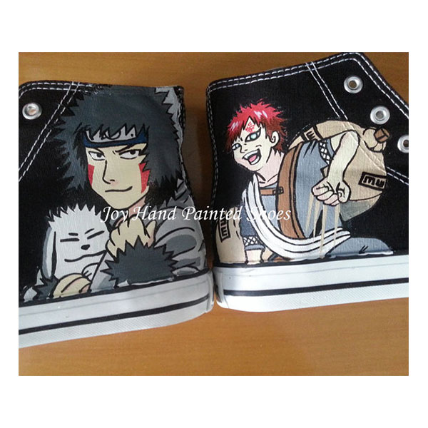 Gaara Shoes Kiba Anime Shoes Sneakers for women/men-1