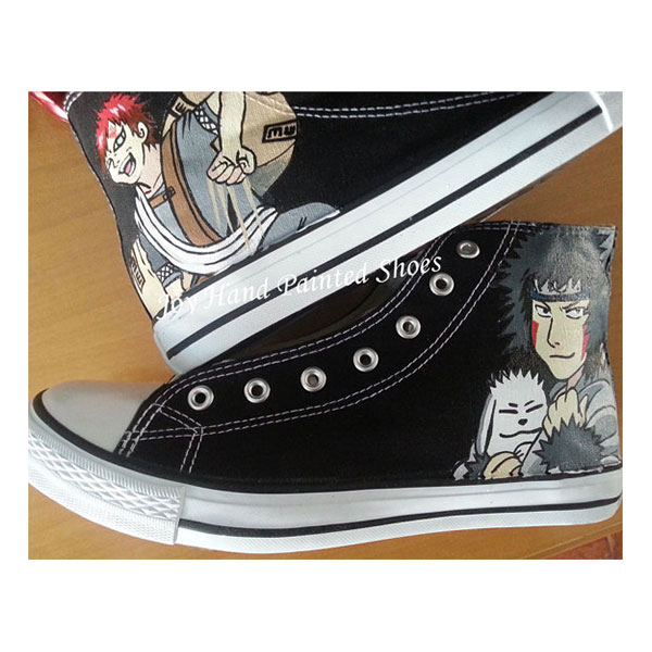 Gaara Shoes Kiba Anime Shoes Sneakers for women/men