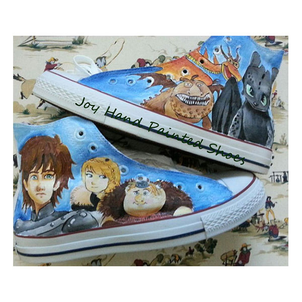 How to Train Your Dragon 2 Custom Shoes How to Train Your Dragon