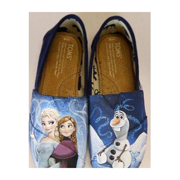 Frozen Toms Anna Elsa Toms Shoes