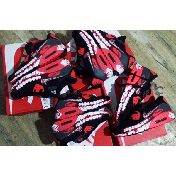 Custom Anime Tokyo Ghoul Hand Painted Sneakers-2