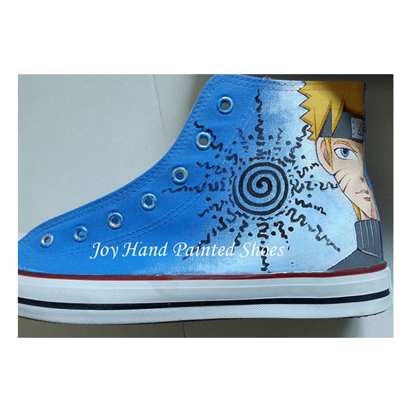 naruto shoes custom canvas shoes naruto anime sneakers painted s-4