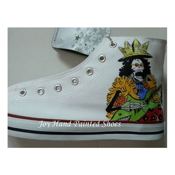 one piece anime shoes anime one piece hand painted canvas shoes