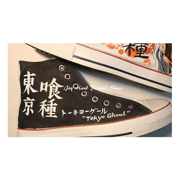Tokyo Ghoul Anime Shoes Painted Custom Shoes Best Birthday Gifts-3