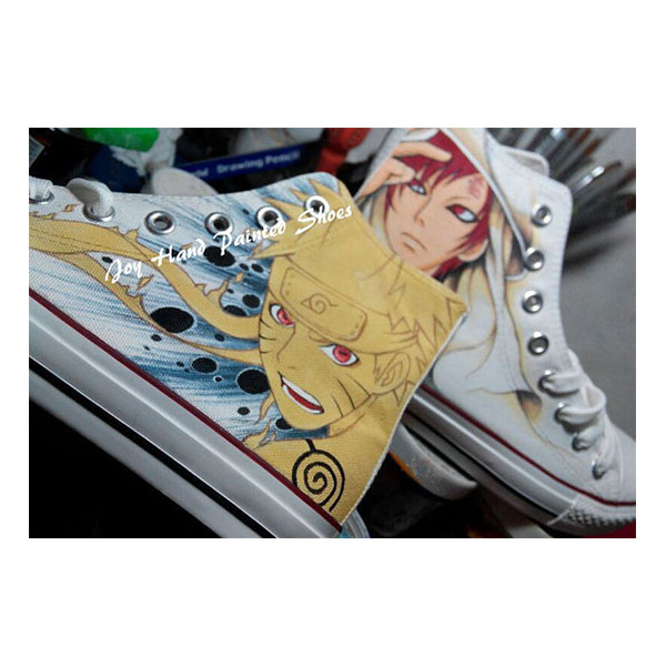 Anime Naruto Kakashi Sneaker Shoes Men Women Naruto Shoes Hand P