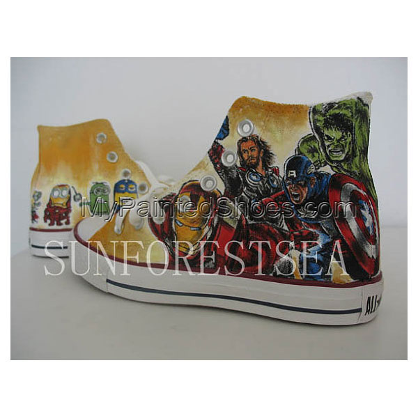The Avengers custom Canvas Shoes Birthday Gifts Christmas Gifts