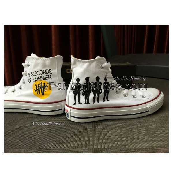I Love Custom Hand Painted Shoes Customize Hand Painted Gifts Ca-2