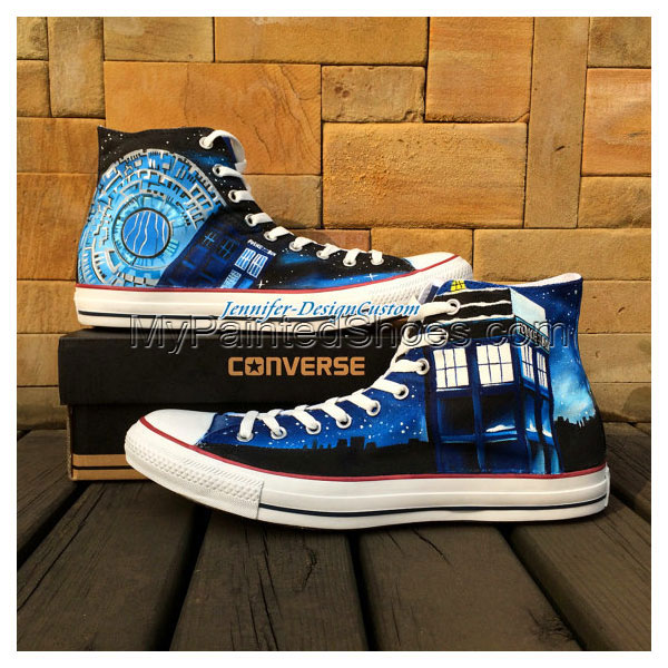 Galaxy Doctor Who Shoes Canvas Shoes Birthday Gifts Christmas Gi