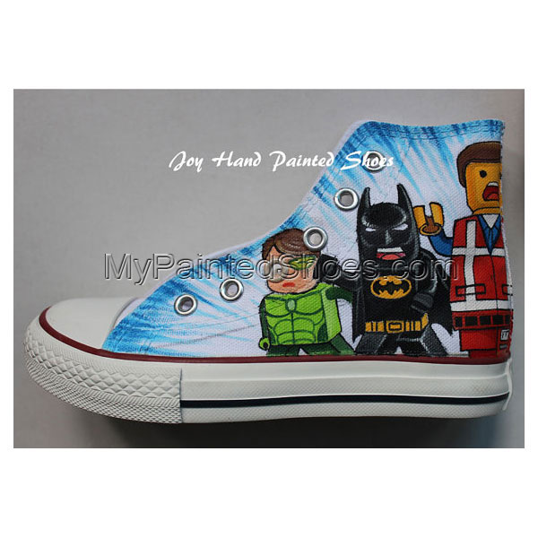 Lego City Chuck Taylor Shoes Best Presents for Sale Birthday Gif-2