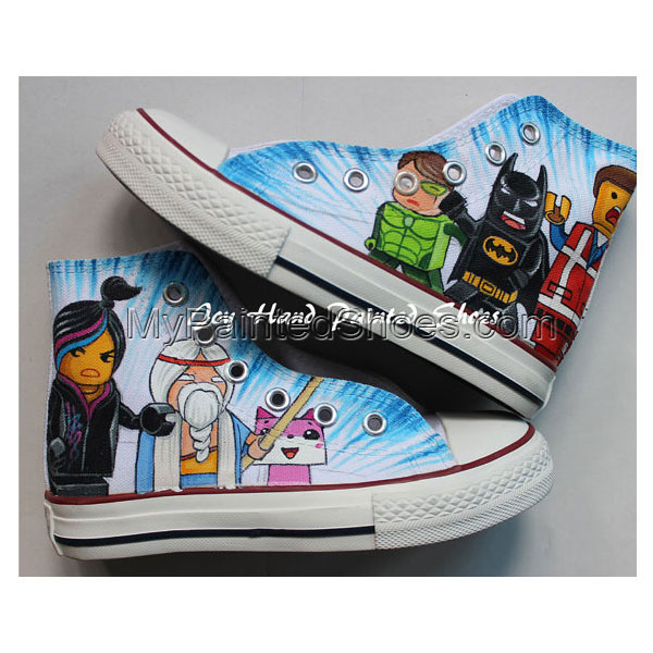 Lego City Chuck Taylor Shoes Best Presents for Sale Birthday Gif