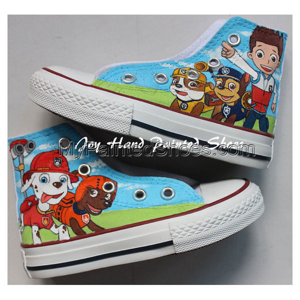 Pat Patrouille Chuck Taylor Shoes Best Presents for Sale Birthda