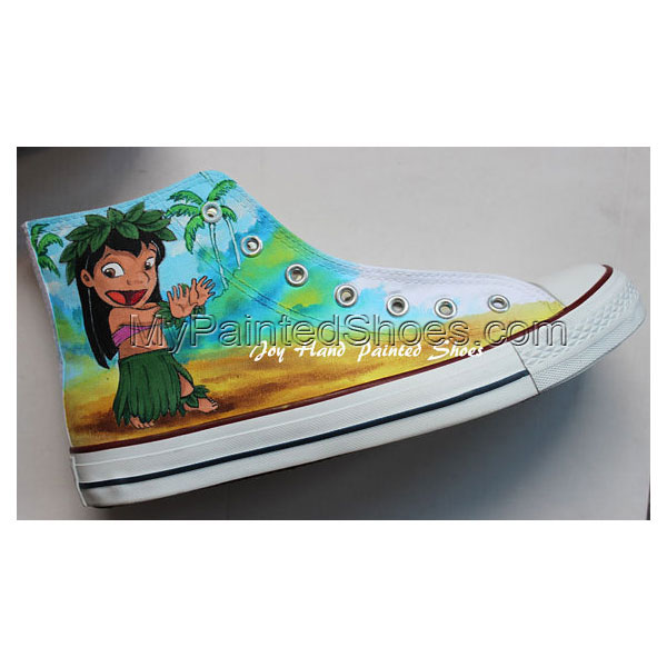 Hand Drawn Shoes Chuck Taylor Anime Shoes-2