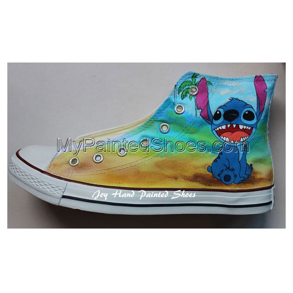 Hand Drawn Shoes Chuck Taylor Anime Shoes-3