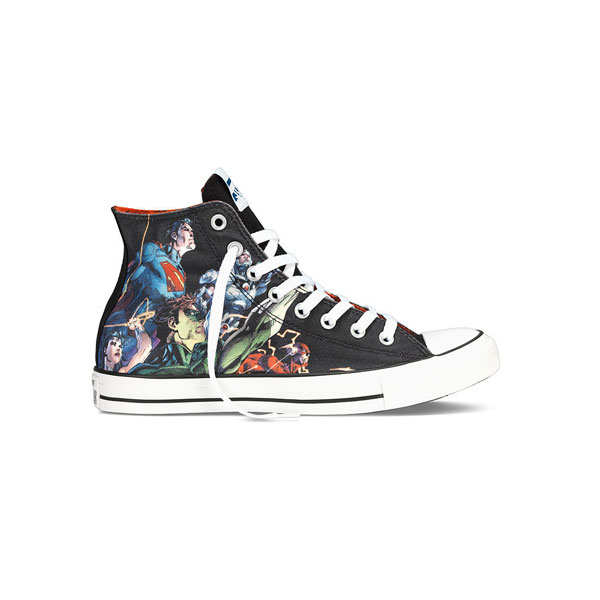 Justice League Chuck Taylor Unique Design For Best Birthday Gift
