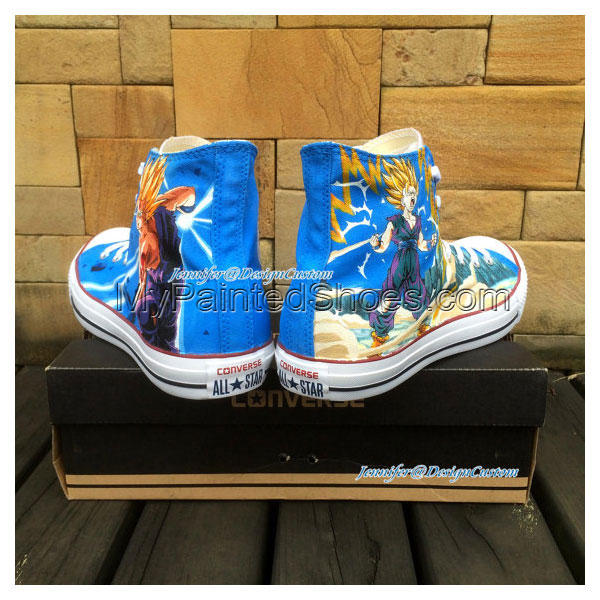 ART WORK Anime Shoes Custom Unique Christmas Gifts Anime Convers-3