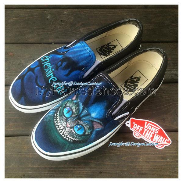 ART Shoes Cat VANS Shoes Cat Shoes,Hand Painted Shoes,Custom Pai-2