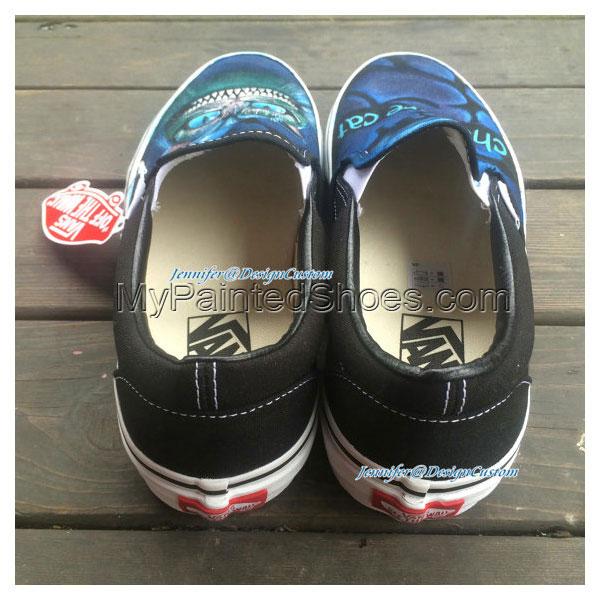 ART Shoes Cat VANS Shoes Cat Shoes,Hand Painted Shoes,Custom Pai-3