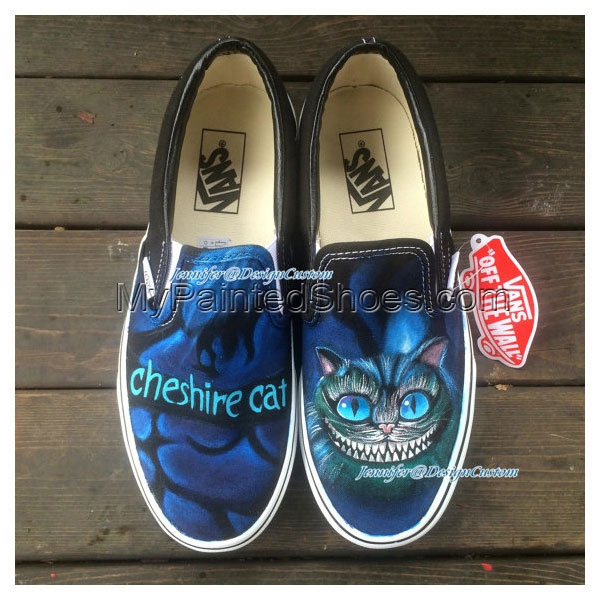 ART Shoes Cat VANS Shoes Cat Shoes,Hand Painted Shoes,Custom Pai
