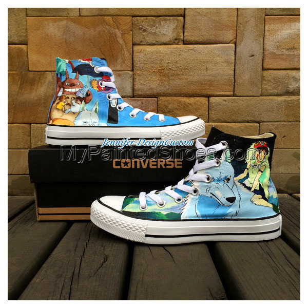 2015 New ART WORK Anime Shoes Anime Converse,Hand Painted Shoes,